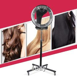 3 in 1 Pro Orbiting Rollerball Infrared Stand Hair Dryer Color Processor Salon