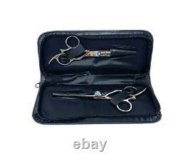 5.5 SHINZU SHEARS SET By SHARK FIN PROFESSIONAL SHEARS, Salon Shears