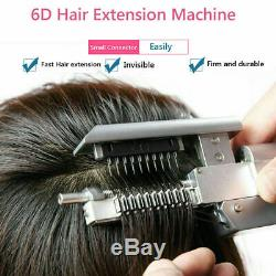 6D Hair Extensions Tool Pro Salon NO HEAT REQUIRED Best permanent method EXTRAS