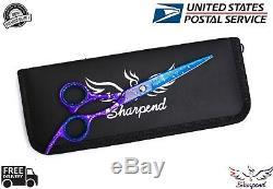 6.5'' Barber Shears Hair Cutting Sharp Scissors Professional Salon Set USA
