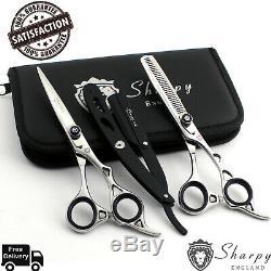 6 Professional Hair Cutting Hairdressing Barber Salon Scissor Sissors Shears
