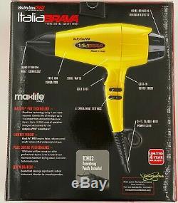 Babyliss Pro Italia Brava Luxury Salon Hair Dryer 2000W Ferrari Design Engine