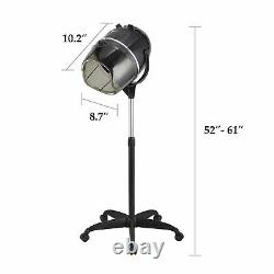 Bonnet Stand Up Hair Dryer Swivel Hood Professional Salon Styling with Timer 900W