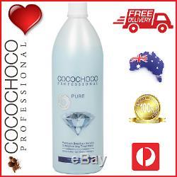 COCOCHOCO Pro PURE Brazilian Keratin Hair Salon Treatment 1000ml FREE POST