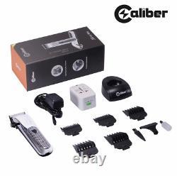 Caliber. 50 Cal Pro Cordless Hair Clipper Trimmer Barbering Salon Combo New UK