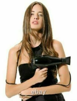 Elchim Milano Professional Ergonomic Italian Salon Hair Blow Dryer Black 2000W