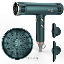 FASIZ Hair Dryers, Professional Ionic Salon Hair Blow Dryer, Lightweight Fast Dry