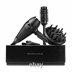 GHD Air Hair Drying Kit- Professional Hairdryer (Black), Salon