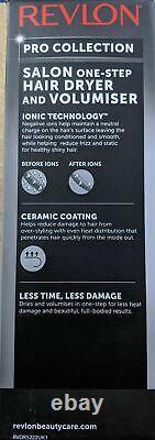 Genuine Revlon Pro Collection Salon One-step Hair Dryer And Volumiser Dr5222