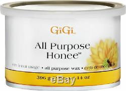 GiGi Body Legs Hair Removal Depilatory Wax Cream Hot Waxing Strips Heater Kit