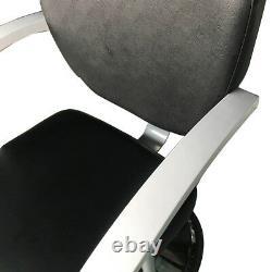 HZ8743 Pro Hydraulic Reclining Barber Chair Hair Styling Salon Beauty Equipment