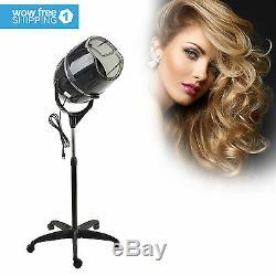 Hair Dryer Timer Swivel Hood Caster for Salon Beauty Professional Standing Up