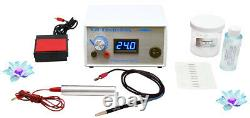 Home & Salon Electrolysis permanent hair removal system, Professional Machine