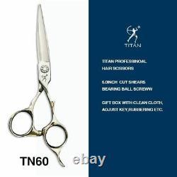Japan VG10 Steel Professional Barber Shears Hair Scissors Salon Hairdressing 6