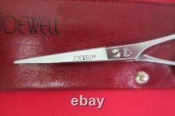 Joewell 50FK Japan Professional Salon Stylist Hair Shears Scissors & Finger Rest
