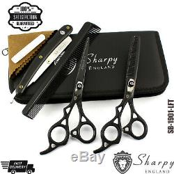 Left Hand Set Pro Salon Hairdressing Hair Cutting Thinning Barber Scissors 6.5