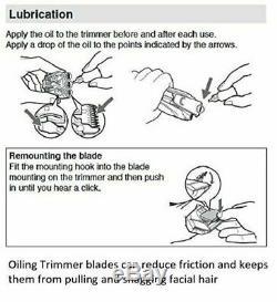 Men Professional Hair Clippers Cutting Barber Salon Kit Machine Trimmer