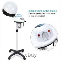 New Professional Salon Hair Steamer Rolling Stand Beauty Hood Color Processor