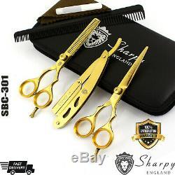 New Professional Salon Hairdressing Hair Cutting Thinning Barber Scissors Set