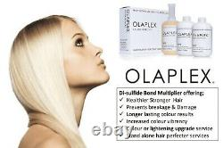 OLAPLEX No. 1 No. 2 -2 SALON INTRO KIT Set PROFESSIONAL USE Authentic and Sealed