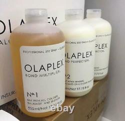 Olaplex Large Salon Intro Kit 140 App No. 1 No. 2 (x2) & Dispenser Professional