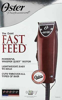 Oster Professional FAST FEED Hair Clipper 76023-510 Barber Salon Cut Haircut