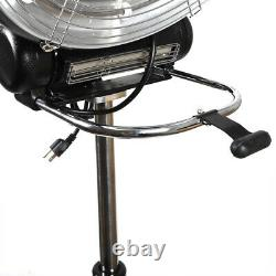 Pro 3IN1 360 Degree Rollerball Infrared Hair Dryer Processor Salon 1000W & Timer