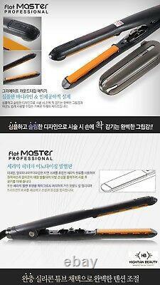 Pro Create Flat Master Ceramic iron S-Size 14mm Hair Salon Straightener KOREA