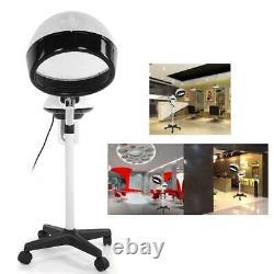 Pro Hair Steamer Hairdressing Care Salon Hood Color Processor Standing Equipment