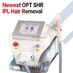 Pro IPL Elight SHR OPT Laser Hair Removal RF Skin Rejuvenation Machine For Salon