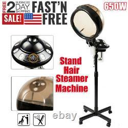 Pro Salon Hair Steamer Rolling Stand Base Beauty Hood Color Processor Machine