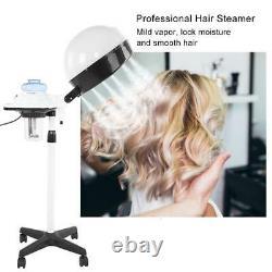 Pro Salon Hair Steamer Rolling Stand Base Beauty Hood Color Processor US Plug