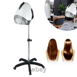 Pro Stand Hair Steamer Salon Hair Heater Dyeing Perming Oil Treatment Machine US