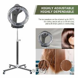 Professional 3-IN-1 360 Degree Rollerball Infrared Hair Dryer Processor Salon