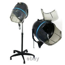 Professional Adjustable Hair Dryer Timer Swivel Hood Caster Salon withWheels