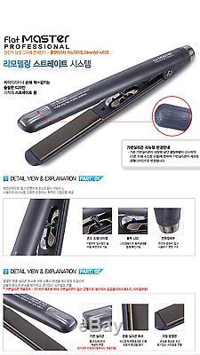 Professional Create Flat Master iron M-Size Hair Salon Straightener KOREA