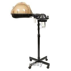 Professional Hair Steamer Hair Care Styling Salon Spa Equipment WithRolling Stand