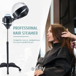 Professional Hair Steamer Hooded Hair Treatment Equipment for Home Salon More