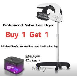 Professional Infrared Hair Dryer Timer Salon Spa Beauty Temp Perm Color robot