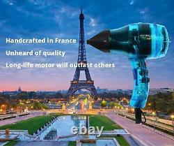Professional Ionic Hair Dryer Handcrafted in France for the Finest Salons