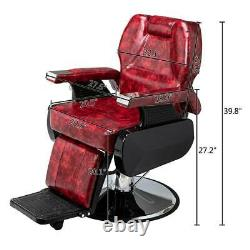 Professional Recline Hydraulic Barber Chair Salon Beauty Shampoo Hair Equipment