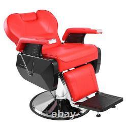 Professional Salon Barber Chair 360° Rolling Swivel Hair Salon Spa Equipment