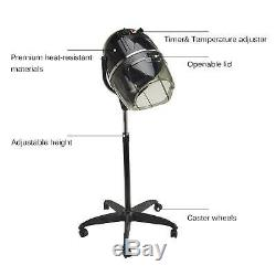 Professional Salon Bonnet Stand-up Hair Dryer Styling with Timer