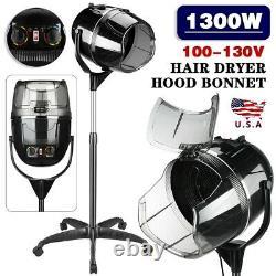 Professional Salon Hair Beauty Bonnet Stand-up Hair Dryer Hood Height Adjustable