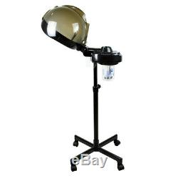 Professional Salon Hair Steamer Rolling Stand Base Beauty Hood Color Processor