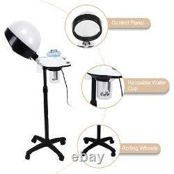 Professional Salon Hair Steamer Rolling Stand Beauty Color Processor Spa 110V