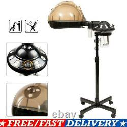Professional Salon Hair Steamer Rolling Stand Beauty Color Processor Spa 650W US