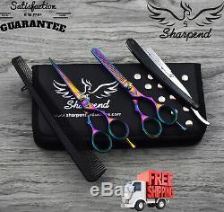 Professional Salon Hairdressing Hair Cutting Thinning Barber Scissors Set 5.5'