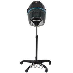 Professional Stand Up Hair Dryer Timer Swivel Hood Caster for Salon Hair Beauty