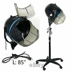 Professional Standing Hair Dryer 1300W Adjustable Floor Stand Home Salon Beauty